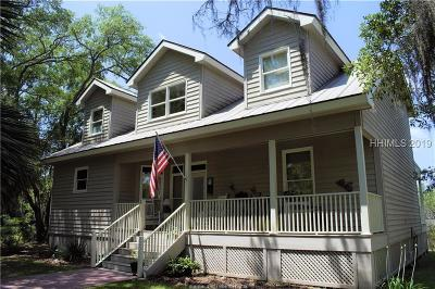 Jasper County Single Family Home For Sale: 9 Broad River Road