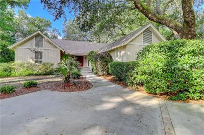 Hilton Head Island Single Family Home For Sale: 3 Bear Creek Drive
