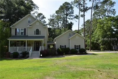 Beaufort County Single Family Home For Sale: 511 Sams Point Rd