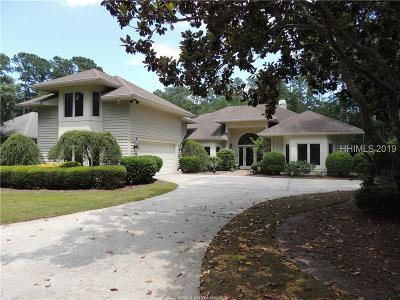 Hilton Head Island Single Family Home For Sale: 4 Stonegate Drive