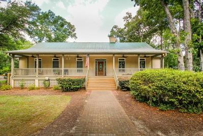 Bluffton Single Family Home For Sale: 94 Pritchard Farms Road