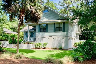 Hilton Head Island Single Family Home For Sale: 3 Sandhill Crane Road