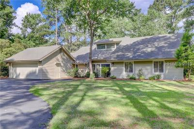 Hilton Head Island Single Family Home For Sale: 12 Timber Lane