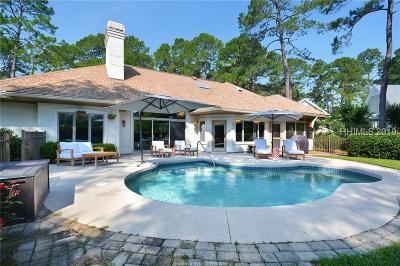 Hilton Head Island Single Family Home For Sale: 52 Saw Timber Drive