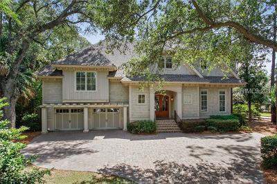 Hilton Head Island Single Family Home For Sale: 9 Seaside Sparrow Road