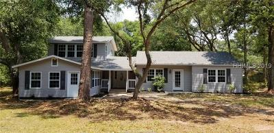 Beaufort Single Family Home For Sale: 438 Sams Point Road