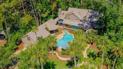 Hilton Head Island Single Family Home For Sale: 10 Armada Street