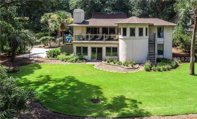 Hilton Head Island Single Family Home For Sale: 5 Wren Drive