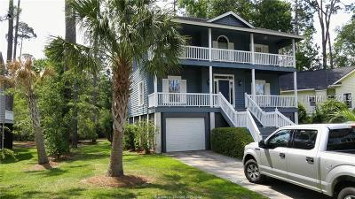 Hilton Head Island Single Family Home For Sale: 5 Ashton Cove Drive