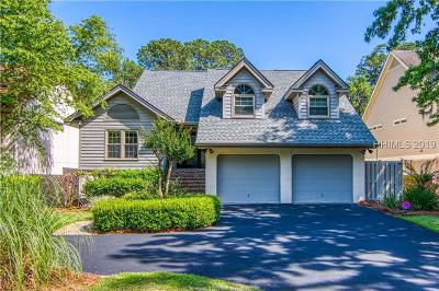 Hilton Head Island Single Family Home For Sale: 12 Shell Ring Road