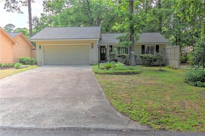 Hilton Head Island Single Family Home For Sale: 14 Evergreen Lane