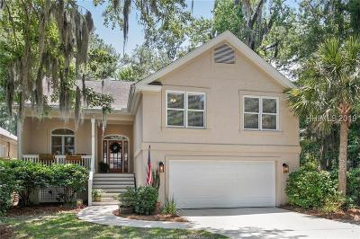 Hilton Head Island Single Family Home For Sale: 19 Wax Myrtle Court
