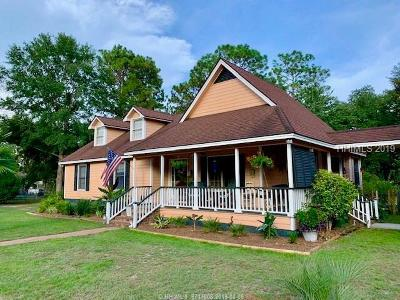 Jasper County Single Family Home For Sale: 600 Log Hall Road