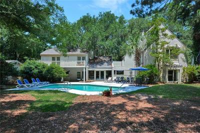 Hilton Head Island Single Family Home For Sale: 85 Plantation Drive