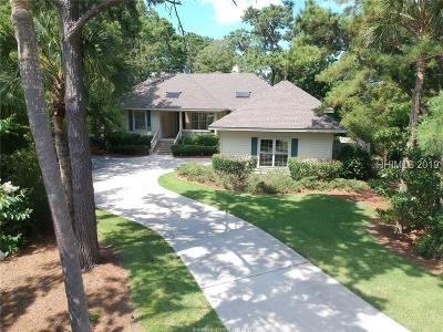 Hilton Head Island Single Family Home For Sale: 9 Catalina Court
