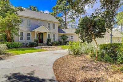 Hilton Head Island Single Family Home For Sale: 13 Ellis Court