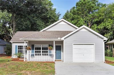 Hilton Head Island Single Family Home For Sale: 16 Monticello Drive