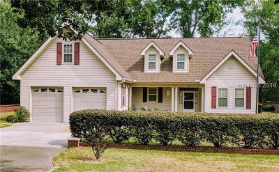 Ridgeland Single Family Home For Sale: 178 McTeer Avenue