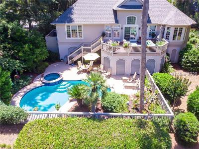 Single Family Home For Sale: 154 N Sea Pines Drive
