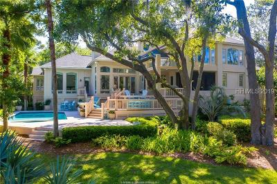 Hilton Head Island Single Family Home For Sale: 18 Midstream