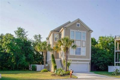 Hilton Head Island Single Family Home For Sale: 52 Crabline Court
