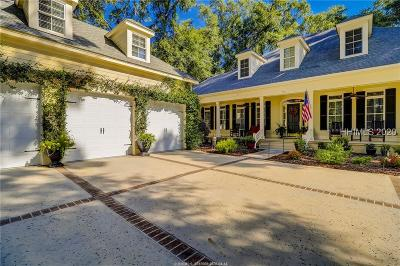 Bluffton Single Family Home For Sale: 20 Belmeade Drive
