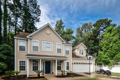 Bluffton Single Family Home For Sale: 153 Cobblers Court