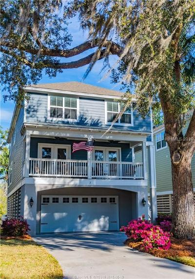 Hilton Head Island Single Family Home For Sale: 3 Jarvis Creek Way