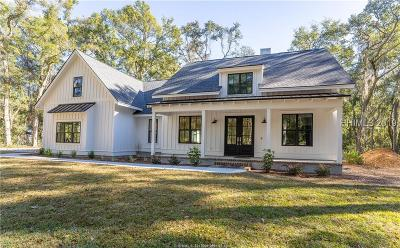 Beaufort Single Family Home For Sale: 334 S Brickyard Point Road S