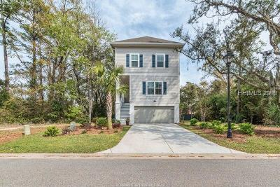Hilton Head Island Single Family Home For Sale: 52 Sandcastle Court