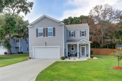 Beaufort Single Family Home For Sale: 4851 Tidal Walk Drive