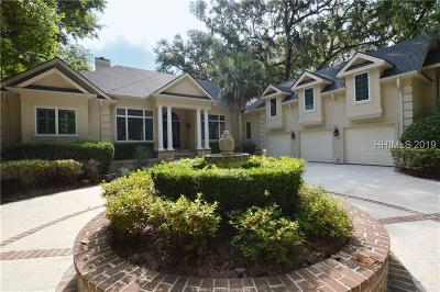 Hilton Head Island Single Family Home For Sale: 31 Oxford Drive