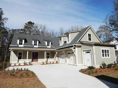Bluffton Single Family Home For Sale: 4 Driftwood Court W
