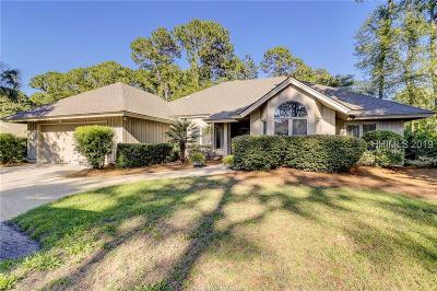 Hilton Head Island Single Family Home For Sale: 6 Sawtooth Court