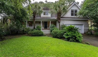 Beaufort Single Family Home For Sale: 8 Attaway Lane