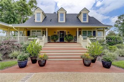 Hilton Head Island Single Family Home For Sale: 13 Tabby Road