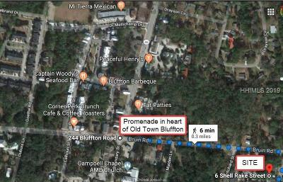 Bluffton Residential Lots & Land For Sale: 6 Shell Rake Street