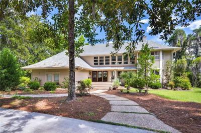 Single Family Home For Sale: 12 Chechessee Circle