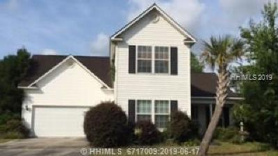 Bluffton SC Single Family Home For Sale: $185,000