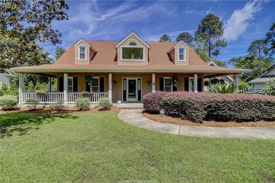 Bluffton Single Family Home For Sale: 4 Holly Fern