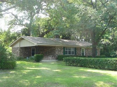 Ridgeland Single Family Home For Sale: 1286 Bees Creek Road