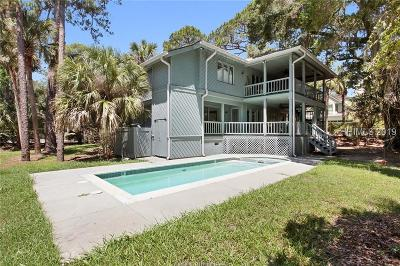 Hilton Head Island Single Family Home For Sale: 17 Green Heron Road