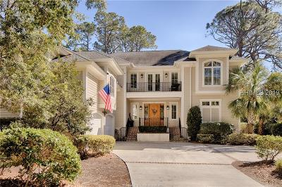 Hilton Head Island Single Family Home For Sale: 17 Wood Ibis Road