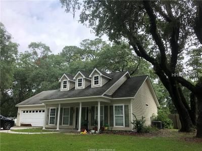 Jasper County Single Family Home For Sale: 47 Oak Plantation Drive