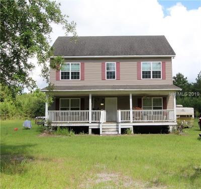 Jasper County Single Family Home For Sale: 167 Salleys Lane