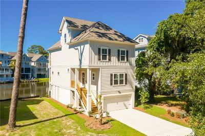 Hilton Head Island Single Family Home For Sale: 58 Sandcastle Court