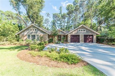 Hilton Head Island Single Family Home For Sale: 16 Governors Lane