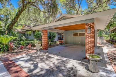 Hilton Head Island Single Family Home For Sale: 36 Wood Duck Court