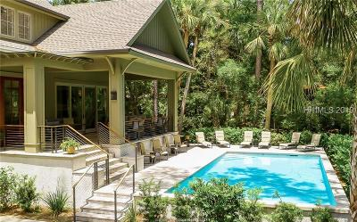 Hilton Head Island Single Family Home For Sale: 11 Black Skimmer Road