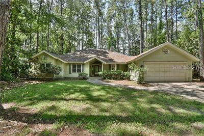 Beaufort County Single Family Home For Sale: 19 Winding Oak Drive